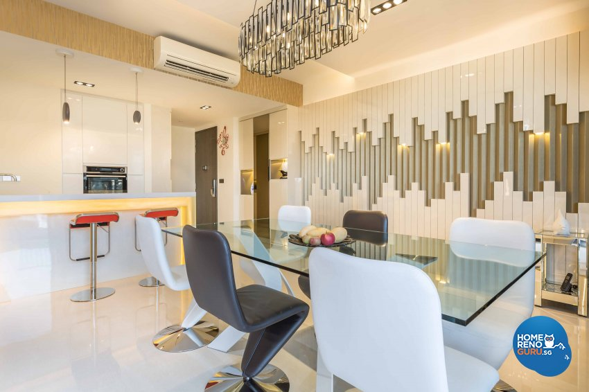 Modern Design - Dining Room - Condominium - Design by Space Vision Design Pte Ltd