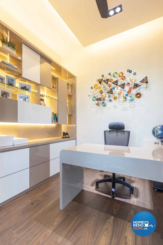 Modern Design - Study Room - Condominium - Design by Space Vision Design Pte Ltd