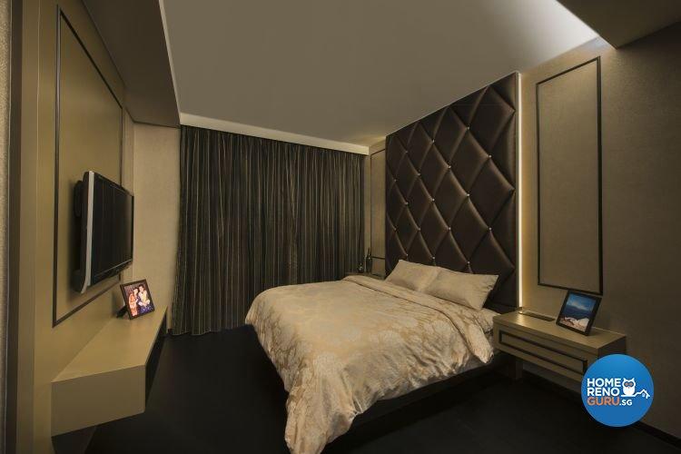 Classical, Contemporary Design - Bedroom - Condominium - Design by Space Vision Design Pte Ltd