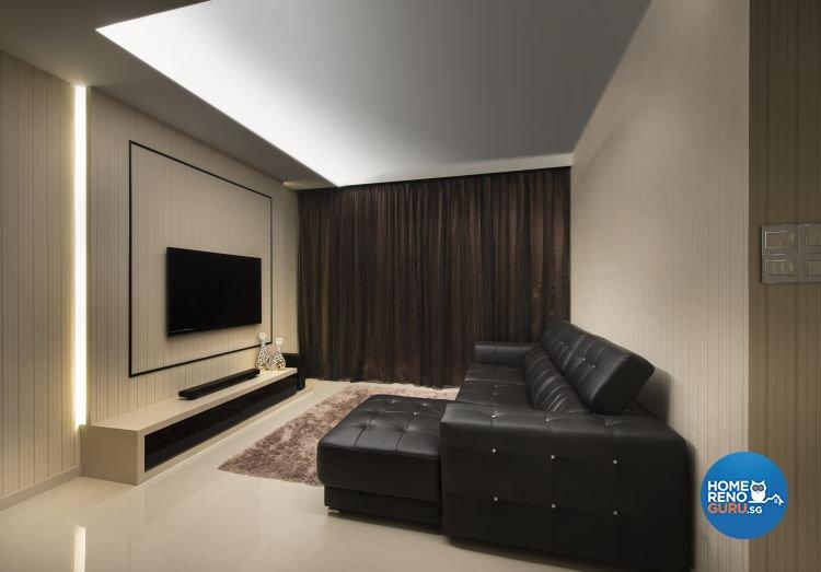 Classical, Contemporary Design - Living Room - Condominium - Design by Space Vision Design Pte Ltd