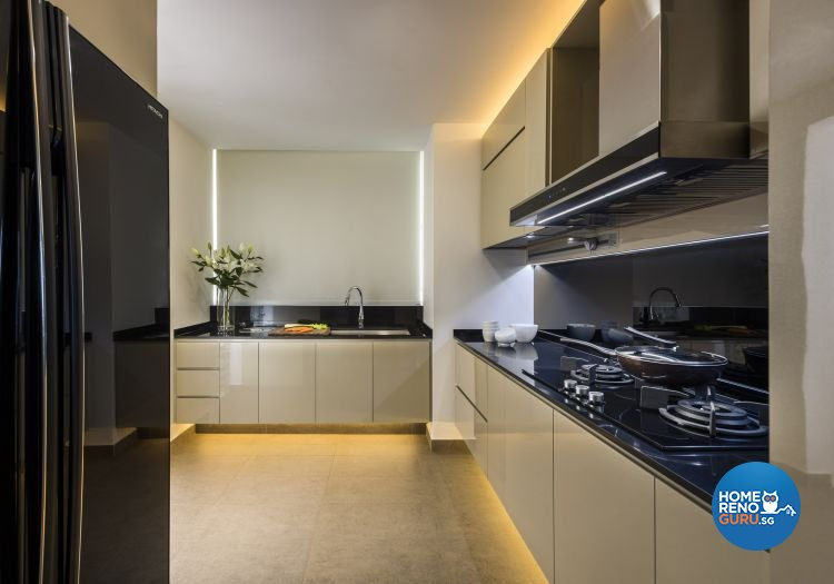 Contemporary, Scandinavian Design - Kitchen - Condominium - Design by Space Vision Design Pte Ltd