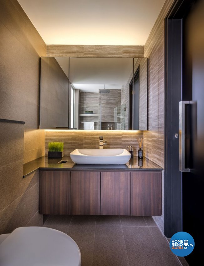 Contemporary, Scandinavian Design - Bathroom - Condominium - Design by Space Vision Design Pte Ltd