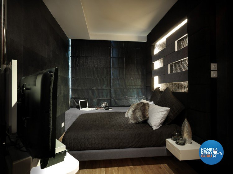 Modern, Victorian Design - Bedroom - Condominium - Design by Space Vision Design Pte Ltd