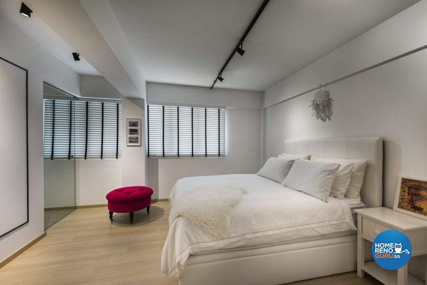 Contemporary, Minimalist, Scandinavian Design - Bedroom - HDB 4 Room - Design by Space Vision Design Pte Ltd