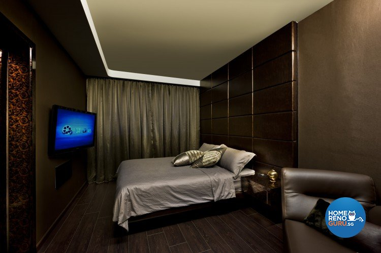 Contemporary, Modern Design - Bedroom - HDB 5 Room - Design by Space Vision Design Pte Ltd