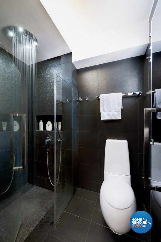 Contemporary, Modern Design - Bathroom - HDB 5 Room - Design by Space Vision Design Pte Ltd