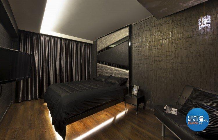 Contemporary, Modern Design - Bedroom - HDB 5 Room - Design by Space Vision Design Pte Ltd