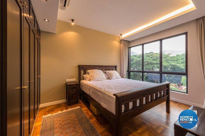 Contemporary, Country, Resort Design - Bedroom - Condominium - Design by Space Vision Design Pte Ltd