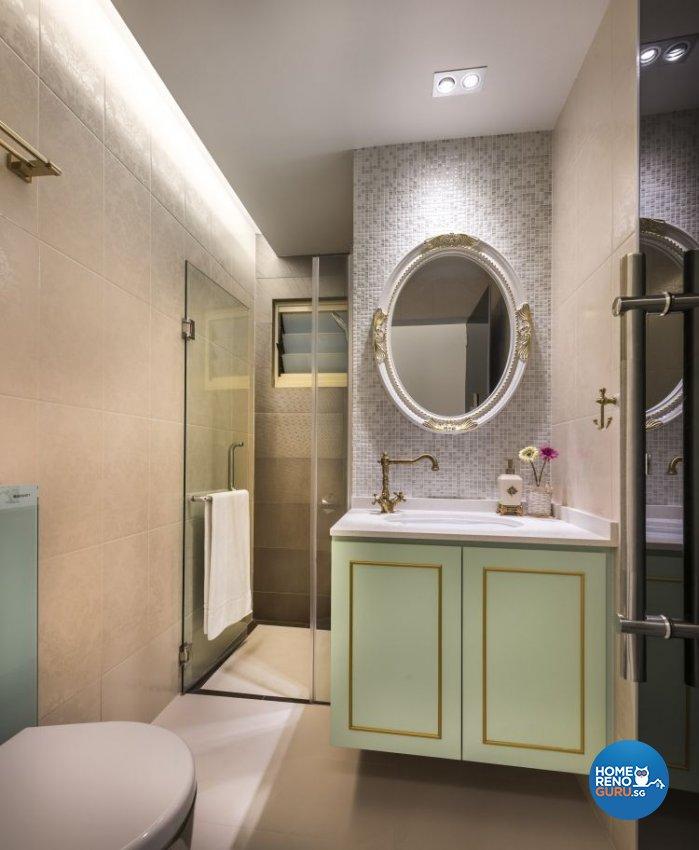 Classical, Modern Design - Bathroom - Condominium - Design by Space Vision Design Pte Ltd