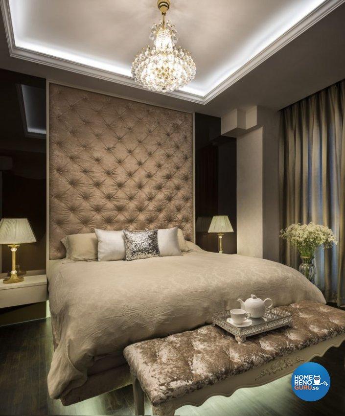 Classical, Modern Design - Bedroom - Condominium - Design by Space Vision Design Pte Ltd
