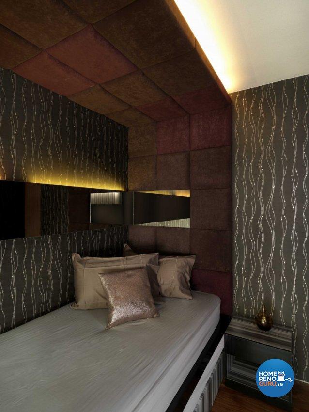Contemporary, Modern Design - Bedroom - Landed House - Design by Space Vision Design Pte Ltd