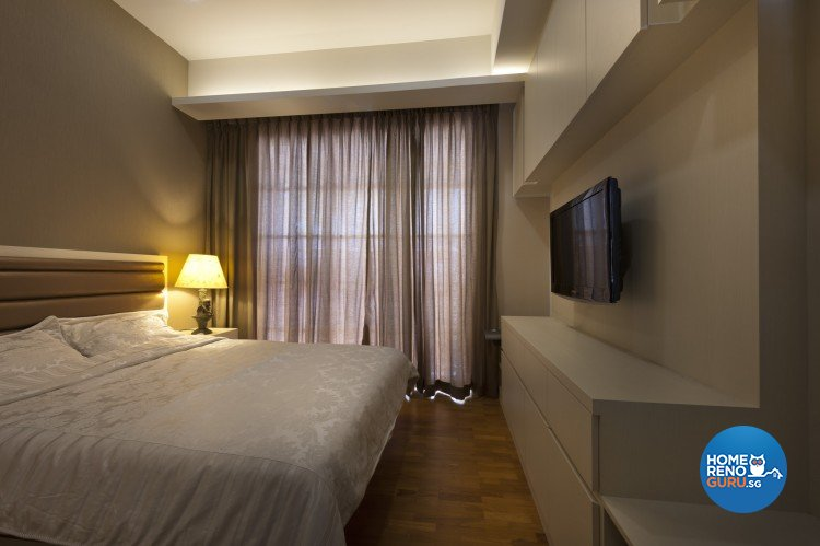 Classical, Contemporary Design - Bedroom - Landed House - Design by Space Vision Design Pte Ltd