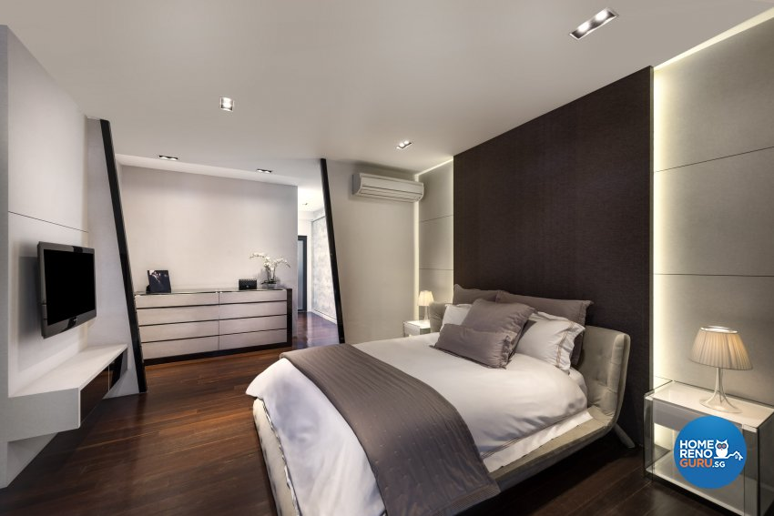 Industrial, Scandinavian Design - Bedroom - Landed House - Design by Space Vision Design Pte Ltd