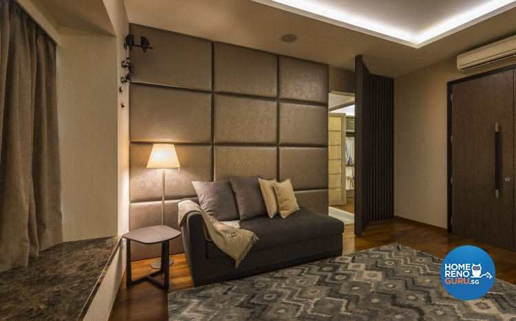 Mediterranean, Rustic, Scandinavian Design - Bedroom - Landed House - Design by Space Vision Design Pte Ltd