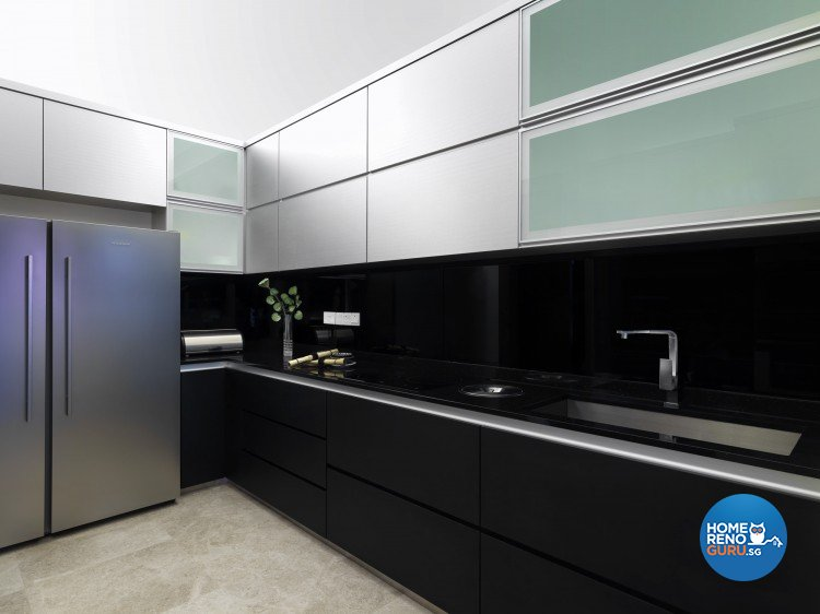 Contemporary, Modern Design - Kitchen - Landed House - Design by Space Vision Design Pte Ltd