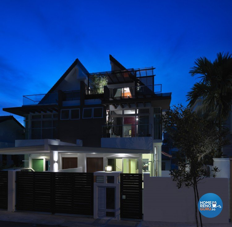 Contemporary, Modern Design - Garden - Landed House - Design by Space Vision Design Pte Ltd