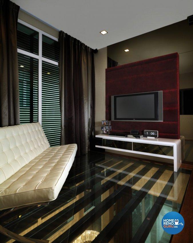 Contemporary, Modern Design - Entertainment Room - Landed House - Design by Space Vision Design Pte Ltd