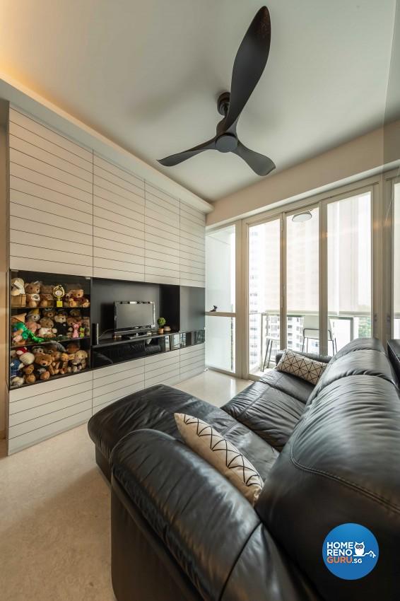 Modern Design - Living Room - Condominium - Design by Space Vision Design Pte Ltd