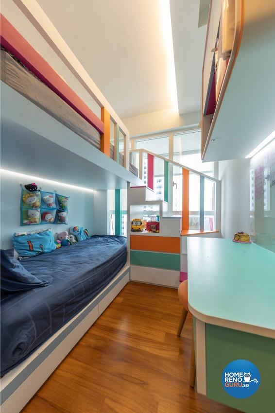 Modern Design - Bedroom - Condominium - Design by Space Vision Design Pte Ltd