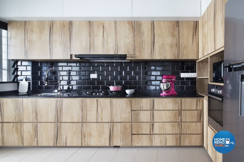 Industrial, Scandinavian Design - Kitchen - HDB 5 Room - Design by Spaces Living Concept
