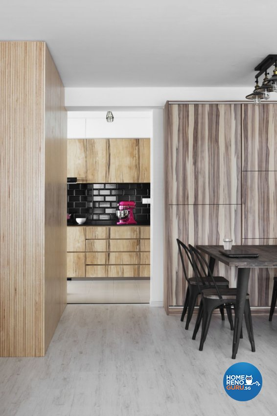 Industrial, Scandinavian Design - Dining Room - HDB 5 Room - Design by Spaces Living Concept