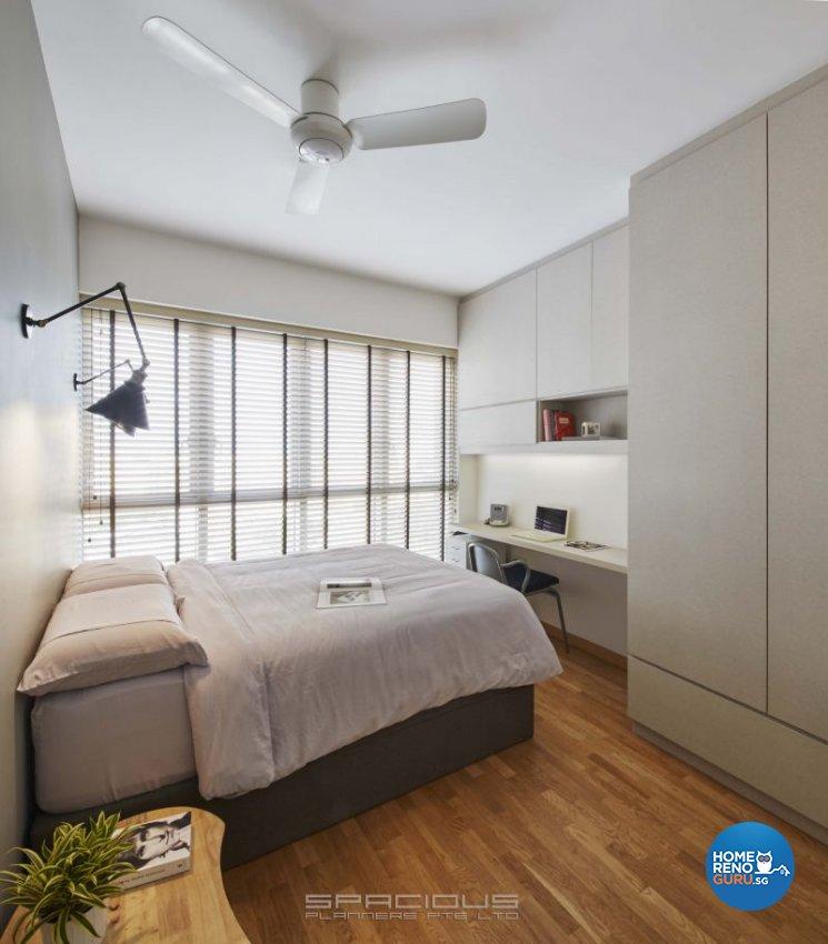 Country, Industrial, Scandinavian Design - Bedroom - Condominium - Design by Spacious Planners Pte Ltd