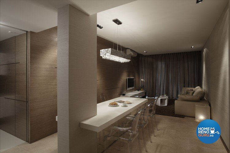 Contemporary, Modern Design - Dining Room - Condominium - Design by Spacious Planners Pte Ltd