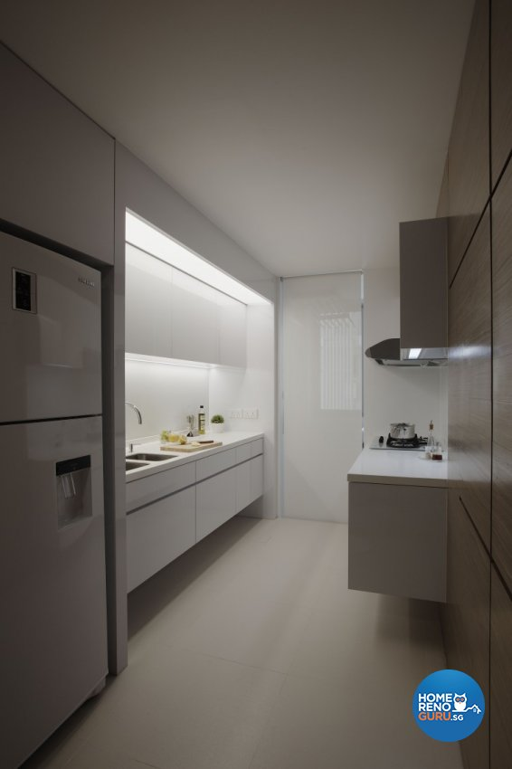 Contemporary, Modern Design - Kitchen - Condominium - Design by Spacious Planners Pte Ltd