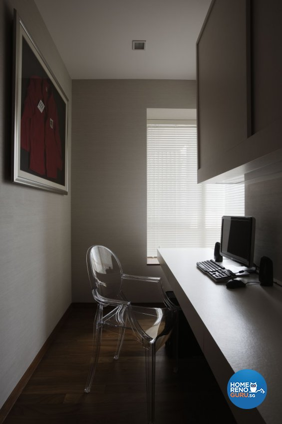 Contemporary, Modern Design - Study Room - Condominium - Design by Spacious Planners Pte Ltd