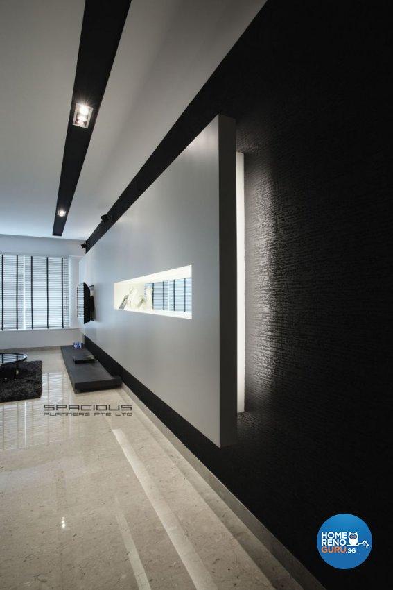 Contemporary, Minimalist, Modern Design - Living Room - Condominium - Design by Spacious Planners Pte Ltd