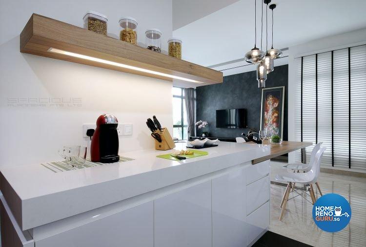 Contemporary Design - Dining Room - Condominium - Design by Spacious Planners Pte Ltd