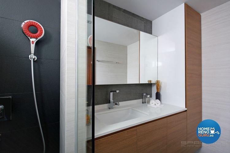 Contemporary Design - Bathroom - Condominium - Design by Spacious Planners Pte Ltd