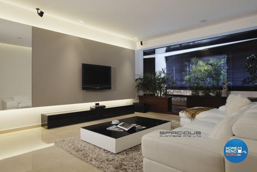 Modern, Resort Design - Living Room - Condominium - Design by Spacious Planners Pte Ltd