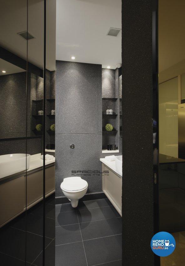 Modern, Resort Design - Bathroom - Condominium - Design by Spacious Planners Pte Ltd