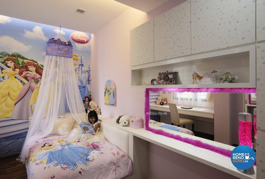 Modern, Resort Design - Bedroom - Condominium - Design by Spacious Planners Pte Ltd
