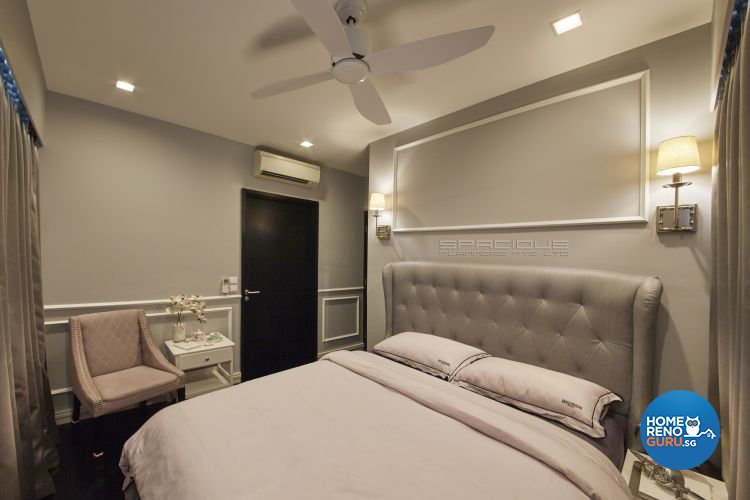 Classical, Modern, Victorian Design - Bedroom - Condominium - Design by Spacious Planners Pte Ltd