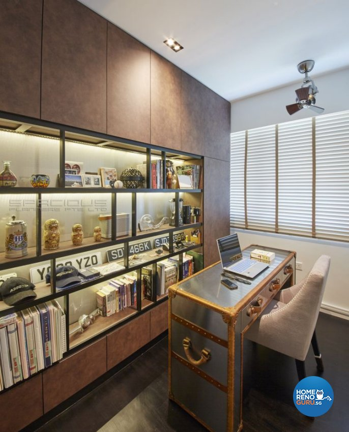 Classical, Modern, Victorian Design - Study Room - Condominium - Design by Spacious Planners Pte Ltd