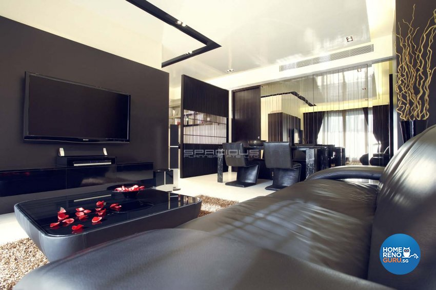 Contemporary, Modern Design - Living Room - Condominium - Design by Spacious Planners Pte Ltd