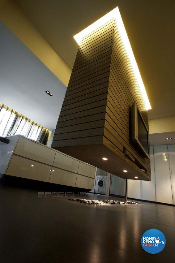 Contemporary, Modern Design - Living Room - Condominium - Design by Spacious Planners Pte Ltd