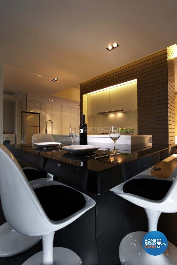 Contemporary, Modern Design - Dining Room - Condominium - Design by Spacious Planners Pte Ltd