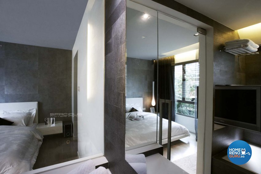 Contemporary, Modern Design - Bedroom - Condominium - Design by Spacious Planners Pte Ltd