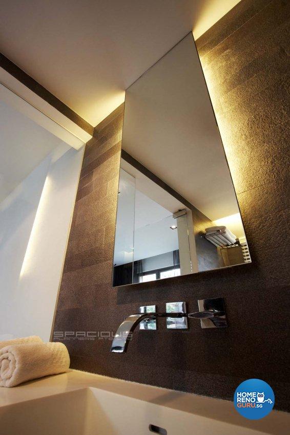 Contemporary, Modern Design - Bathroom - Condominium - Design by Spacious Planners Pte Ltd