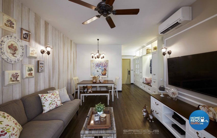 Country, Victorian, Vintage Design - Living Room - Others - Design by Spacious Planners Pte Ltd