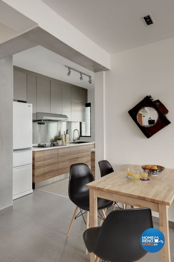 Contemporary, Minimalist, Scandinavian Design - Dining Room - HDB 4 Room - Design by Spacious Planners Pte Ltd