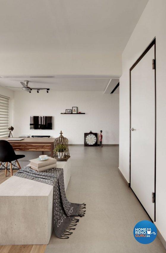Contemporary, Minimalist, Scandinavian Design - Living Room - HDB 4 Room - Design by Spacious Planners Pte Ltd