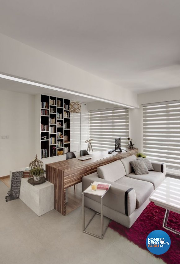 Contemporary, Minimalist, Scandinavian Design   Study Room   HDB 4 Room    Design By Part 74