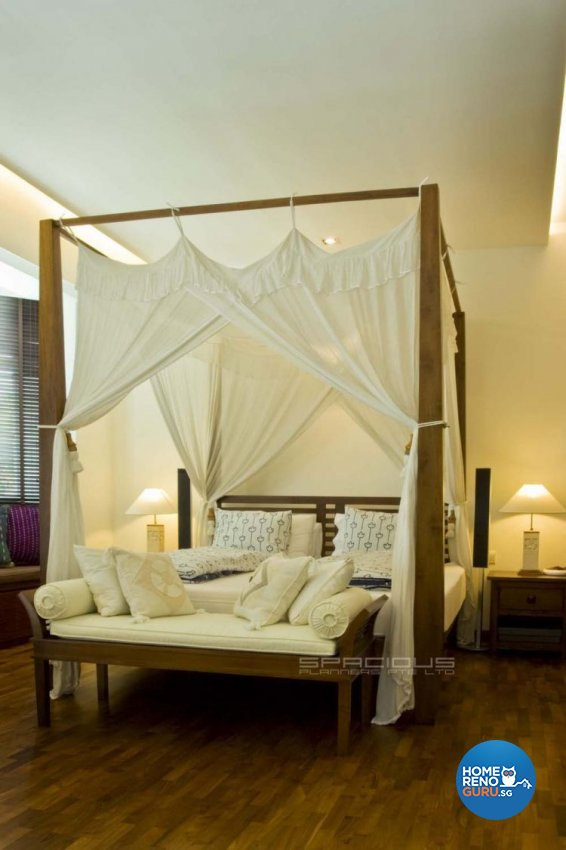 Resort, Tropical Design - Bedroom - Landed House - Design by Spacious Planners Pte Ltd