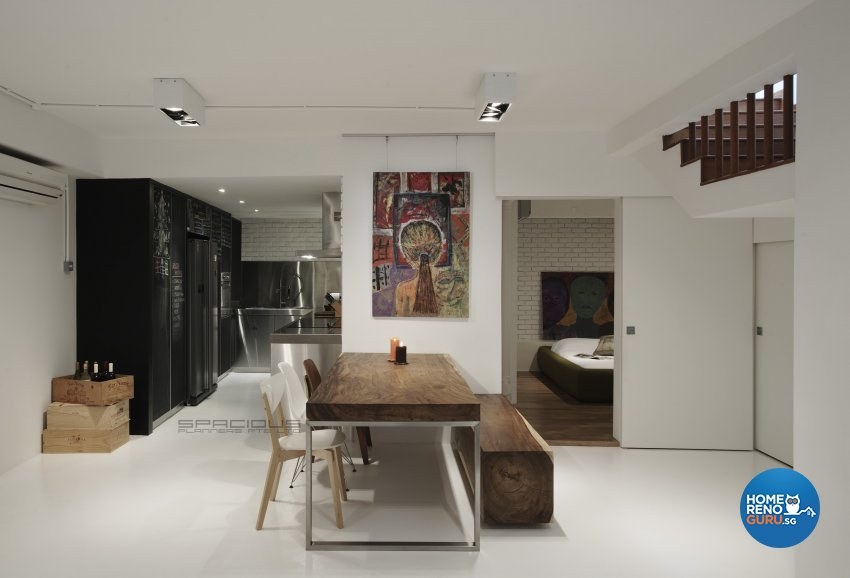 Eclectic, Minimalist, Modern Design - Dining Room - Landed House - Design by Spacious Planners Pte Ltd