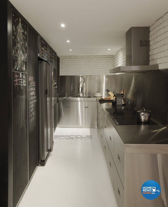 Eclectic, Minimalist, Modern Design - Kitchen - Landed House - Design by Spacious Planners Pte Ltd