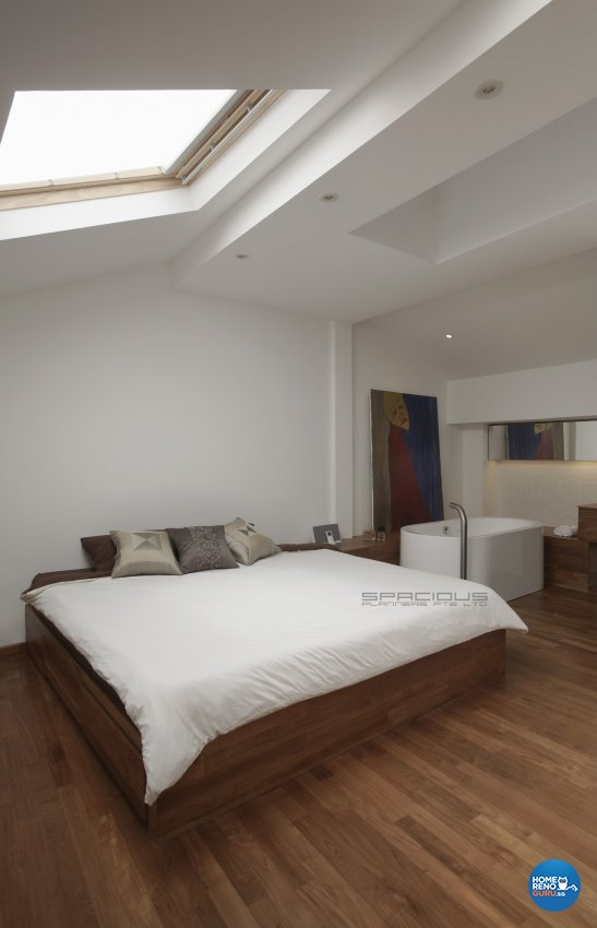 Eclectic, Minimalist, Modern Design - Bedroom - Landed House - Design by Spacious Planners Pte Ltd